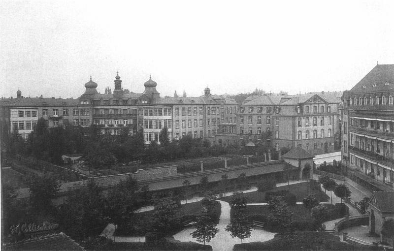 100 jahre b rgerhospital for Architektur 1960